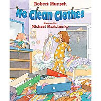 No Clean Clothes Book And Cd A87-9780545999311