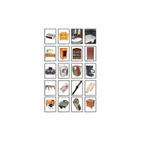 Nouns: Furniture & Appliances Photographic Learning Cards (A15-KE845027)