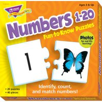 Numbers 1-20 Fun To Know Puzzles B56-36003