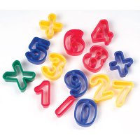 Numbers Dough Cutters CK-9772