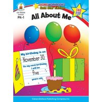 PK-Gr 1 All About Me Home Workbook (A15-104336)