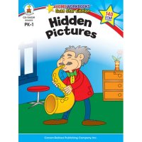 PK-Gr 1 Hidden Pictures Home Workbook (A15-104339)