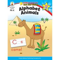 PK-K Alphabet Animals Home Workbook (A15-104329)