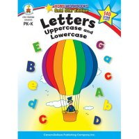 PK-K Letters: Uppercase and Lowercase Home Workbook (A15-104326)