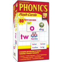 Phonics Photo Flash Cards (H28-1034A)