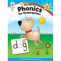 Phonics for Kindergarten Home Workbook (A15-104343)