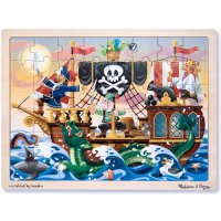 Pirate Adventure Jigsaw Puzzle 48 pcs W/Tray D54-23800