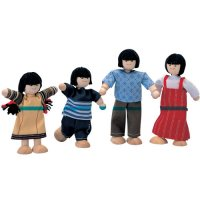 Plan Toys Asian Doll Family B9-X74170