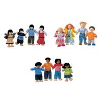 Plan Toys Doll Families Set of 3 B19-1193