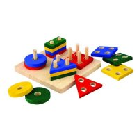 Plan Toys Geometric Sorting Board X5621