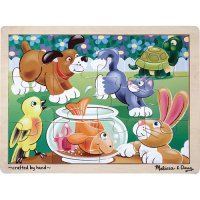 Playful Pets Floor Puzzle 12 pcs D54-22932