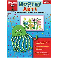 PreK-K Hooray For Art MB-60941