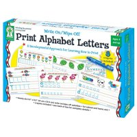 Print Alphabet Letter Write On/ Wipe Off (A15-KE846035)