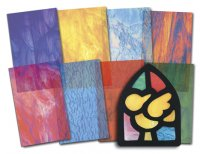 Stained Glass Paper R15257