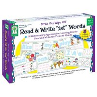 Read & Write 1st Words Write On/ Wipe Off (A15-KE846037)