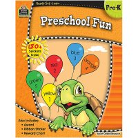 Ready Set Learn: Preschool Fun (B54-5976)