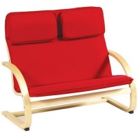 Red Kiddie Rocker Couch G6401