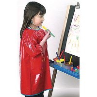 Red Long Sleeve Smock CK-520801