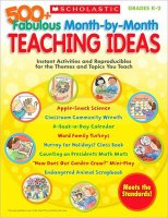 500+ Fabulous Month-By-Month Teaching Ideas [S76590]