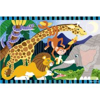 Safari Social Floor Puzzle 24 pcs D54-24423