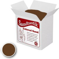 Sandtastik® Classpack Colored Sand, Brown 25 Lbs SS1151BR