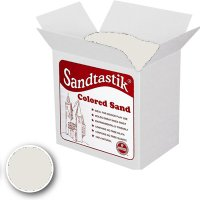 Sandtastik® Classpack Colored Sand, White [SS1151] 25 Lbs