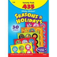 Seasons & Holidays Stinky Stickers Variety Pack