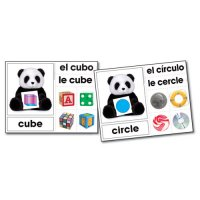 Shape Bears Photographic Learning Cards (A15-KE845024)