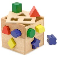 Shape Sorting Box Melissa & Doug MD10575