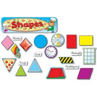 Shapes Mini Bulletin Board Set A15-110044
