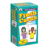 Sign Language Flash Cards (A15-3927)
