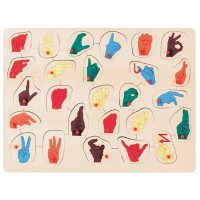 Sign Language Puzzle D54-509