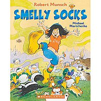 Smelly Socks Book And Cd