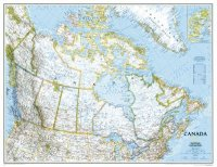 National Geographic - Canada Map