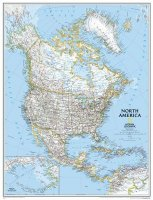 North America Politcal Map