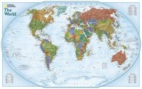 National Geographic – World ~Explorer Map