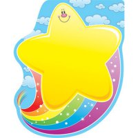 Star with Rainbow Notepads A15-151009