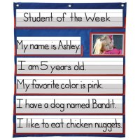 Student Of The Week Pocket Chart A15-158033