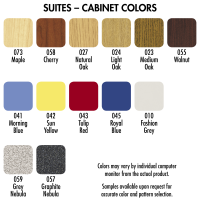 "60"" Wide Work Suite( COLORS OPTIONS AVAILABLE) 84508 E60"
