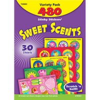 Sweet Scents Stinky Stickers Variety Pack