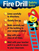 Fire Drill Safety Rules [T38007]