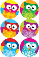 Owl-Stars!™ superSpots® Stickers Value Pack T-46925