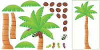 Palm Tree Bulletin Board Set [T8220]