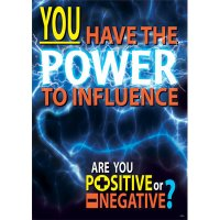 You have the power to influence. [TA67331]
