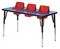 Toddler Tables 3 Seat TT3