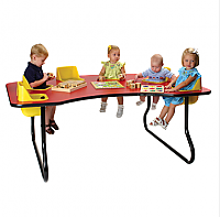 Toddler Tables  6 Seat Space Saver Table TT6