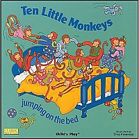 Ten Little Monkeys Book and CD A90-9781904550679
