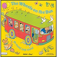 The Wheels On The Bus Book and CD A90-9781904550662