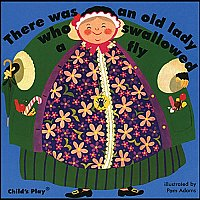 There Was An Old Lady Who Swallowed A Fly Book and CD A90-9781904550624