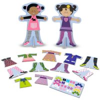 Tops & Tights Magnetic Dress Up Melissa & Doug D54-24943
